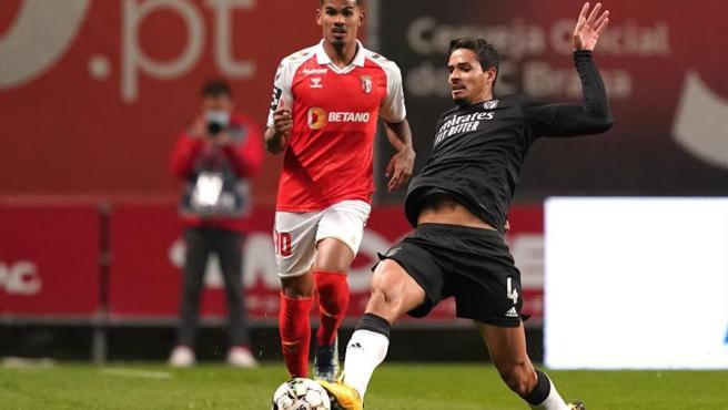 Lucas Veríssimo, jugador del Benfica.