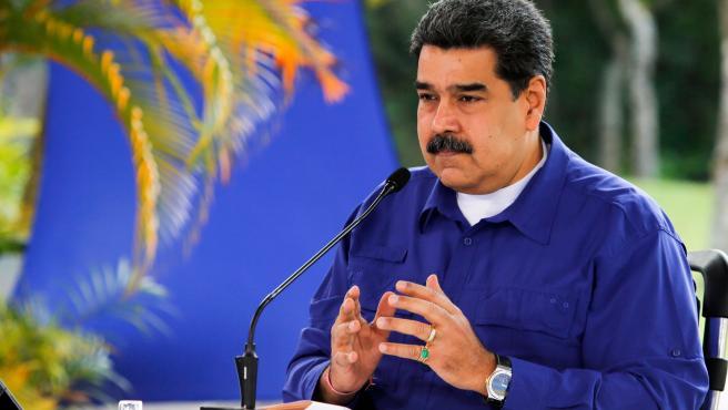 El presidente de Venezuela, Nicolás Maduro, en una imagen de archivo.