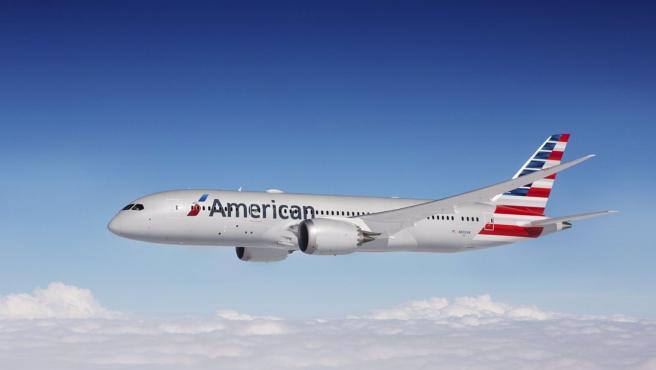 Un avión de American Airlines.