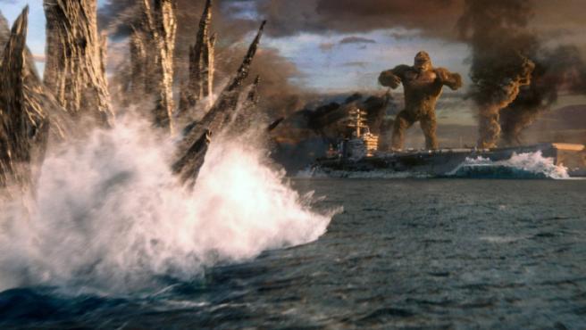 Esta es la historia del invitado sorpresa a la fiesta de 'Godzilla vs. Kong'