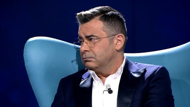 Jorge Javier Vázquez, durante el primer programa que emitió la serie documental de Rocío Carrasco.