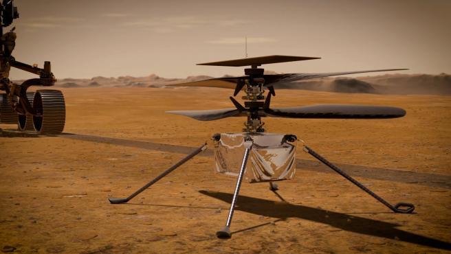 """La NASA pospone de nuevo el vuelo de su helicóptero en Marte, pero asegura  que todo va bien: """"Ingenuity está sano"""""""