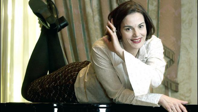 La actriz rumana Maia Morgenstern, que interpretó a la Virgen María en la película de Mel Gibson 'La pasión de Cristo'.