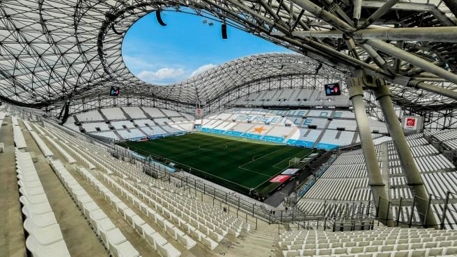 Estadio del Olympique de Marsella.