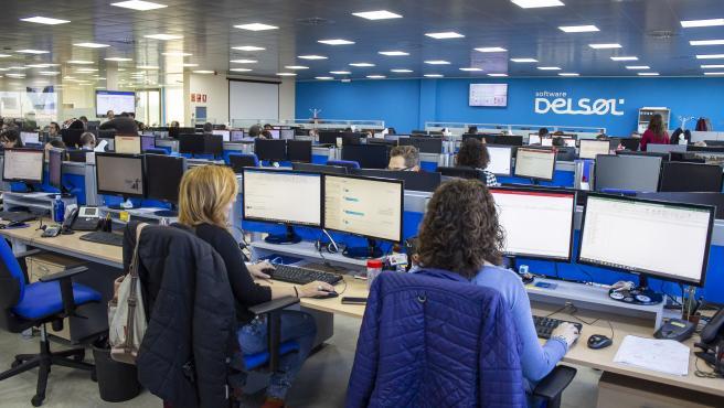 Empresa de Software Delsol cuando empezaron a implantar la jornada de 4 días, en enero de 2020