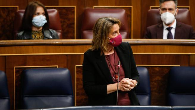 La vicepresidenta cuarta del Gobierno, Teresa Ribera