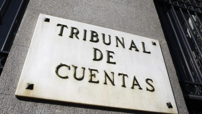 Imagen de archivo de la fachada del Tribunal de Cuentas.