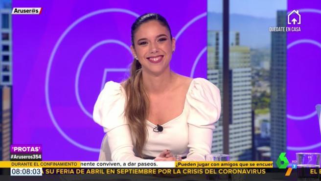 Tatiana Arús, en 'Aruse@s'.
