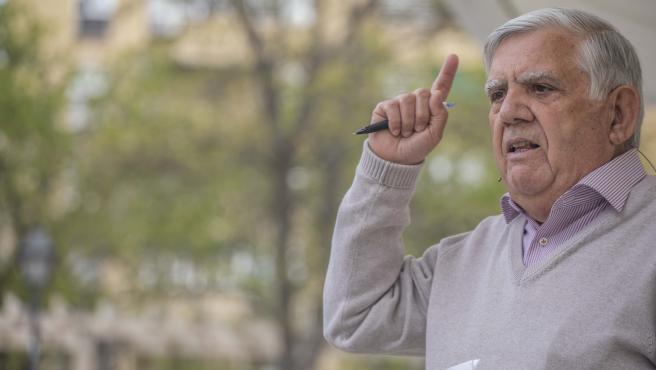 El concejal en el Ayuntamiento de la capital e histórico activista vecinal Félix López-Rey.