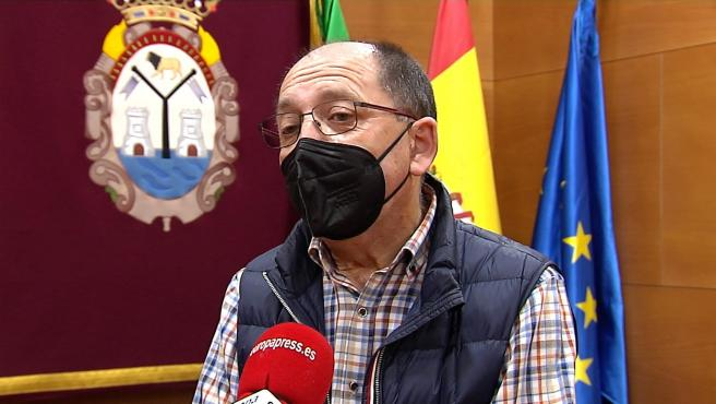 El alcalde de Doña Mencía (Córdoba), Salvador Cubero (IU).