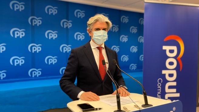 El portavoz de Industria del PP, Felipe Carrasco