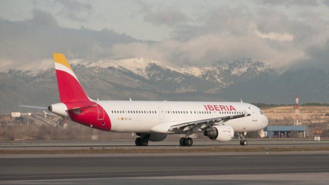 Un avión de Iberia en una imagen de archivo.