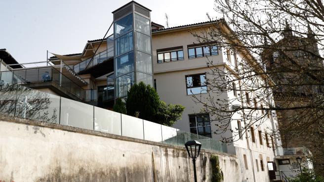 La residencia de ancianos de San Juan de Segura de Guipúzcoa en la que se ha detectado un brote que ya suma 22 positivos.