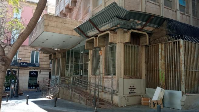 Antiguo edificio de Correos en Almería