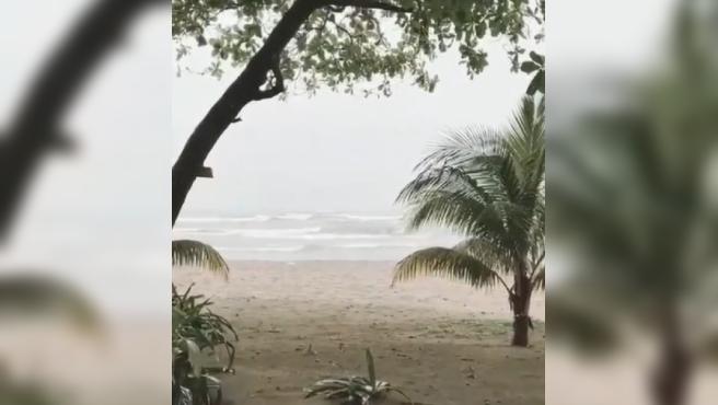 La playa de Honduras donde vivirán los concursantes de 'Supervivientes'.