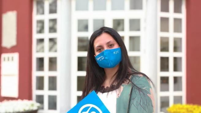 La portavoz local del PP en Jun, Pilar Jiménez
