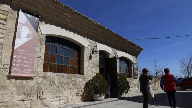 Más de 1.500 personas visitan Fuendetodos en Semana Santa, coincidiendo con el 275 aniversario de Goya.