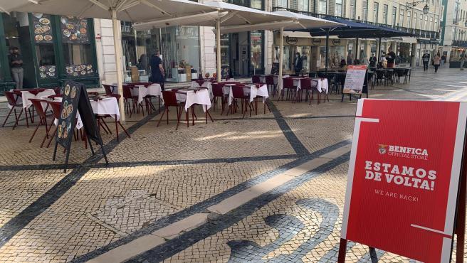 Reabren las terrazas en Portugal.