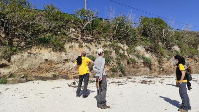Un equipo de la UVigo inicia una intervención arqueológica en la factoría romana de salazón de la Illa de Ons