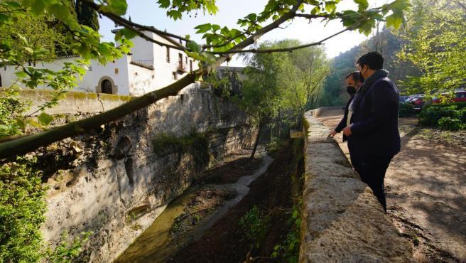 Visita del PSOE al Valle del Darro