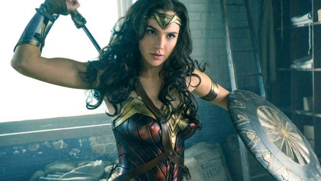 Gal Gadot como Wonder Woman en 'Liga de la Justicia'.