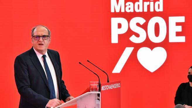 Ángel Gabilondo, en un acto con las Juventudes Socialistas este miércoles.