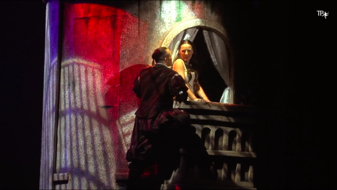 Imagen del vídeo del casting del musical