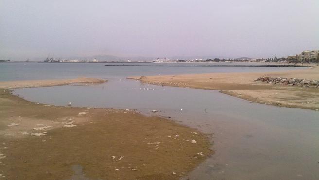 Desembocadura del Rio Oro en Melilla