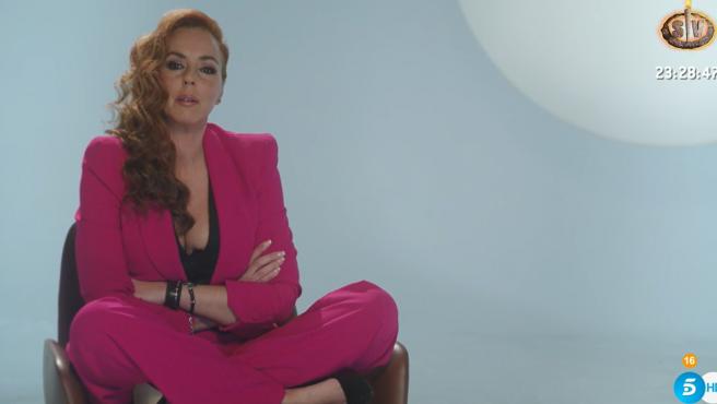 Rocío Carrasco, en la serie documental 'Rocío, contar la verdad para seguir viva'.