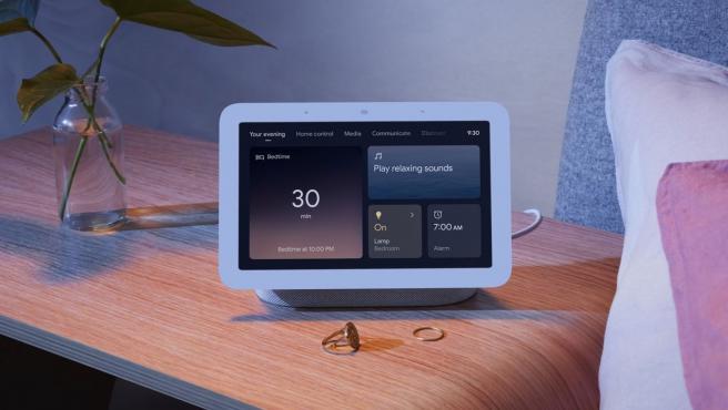 El Nest Hub de segunda generación tiene una función de monitoreo del sueño incorporada.