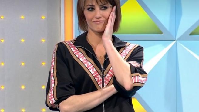 Laura Moure, en 'La ruleta de la suerte'.