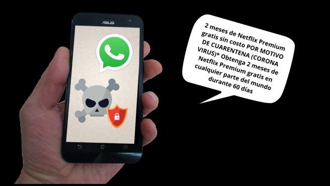 El malware se habilitaba a través de la descarga de la aplicación Flix Online, pero los contactos de la víctima también recibían enlaces de descarga que les animaba a instalar también la app