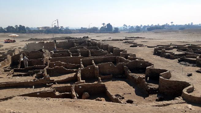 'Ciudad Perdida' de Luxor