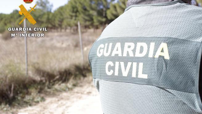Archivo - Agente de la Guardia Civil.