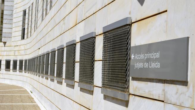 Archivo - Edificio judicial de Lleida