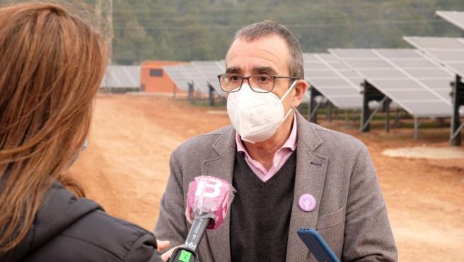 Archivo - El vicepresidente y conseller de Transición Energética, Sectores Productivos y Memoria Democrática, Juan Pedro Yllanes.