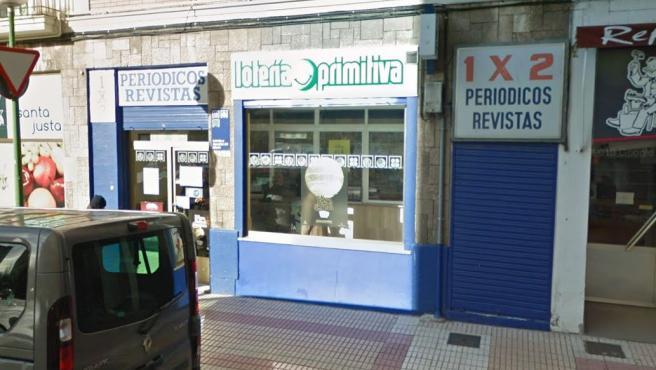 Despacho receptor de Loterías de Burgos.