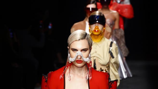 Desfile de Maya Hansen en la Mercedes-Benz Fashion Week Madrid.
