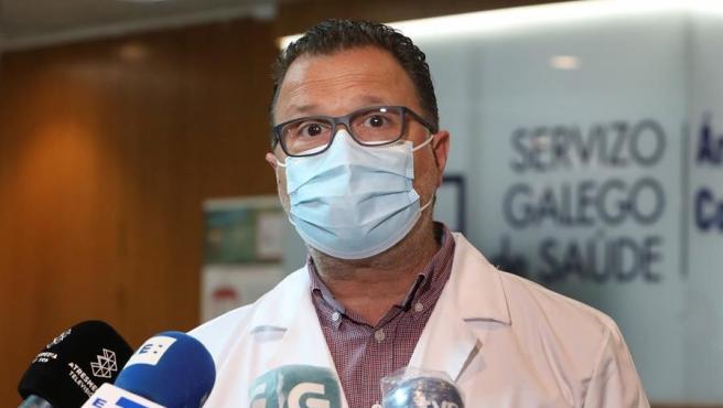 El jefe de servicio de Pediatría del CHUS y miembro del Comité Asesor de vacunas de la OMS, Federico Martinón