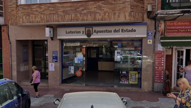 Administración de Loterías de San Sebastián de los Reyes, Madrid.