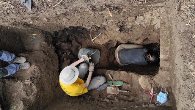 Intervención arqueológica de la UVigo en el yacimiento romano de la playa de Canexol, en la Illa de Ons