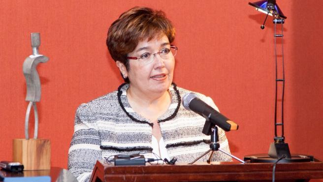 La catedrática de la ULL Dolores Corbella