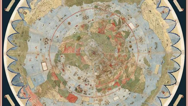 El mapa, ensamblado en su totalidad.
