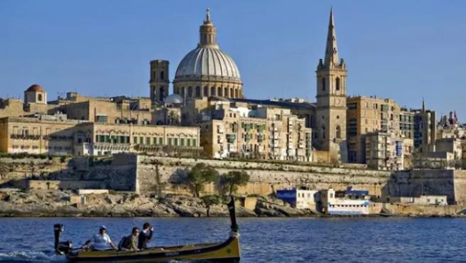 Turistas en Malta.