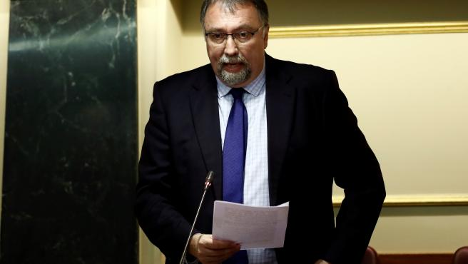 Archivo - El diputado por Asturias del Grupo Mixto, Isidro Manuel Martínez Oblanca (Foro)