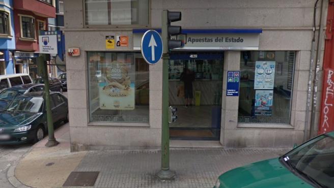 Administración de Loterías en A Coruña.