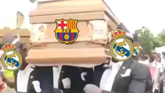 Meme del Real Madrid - Barcelona