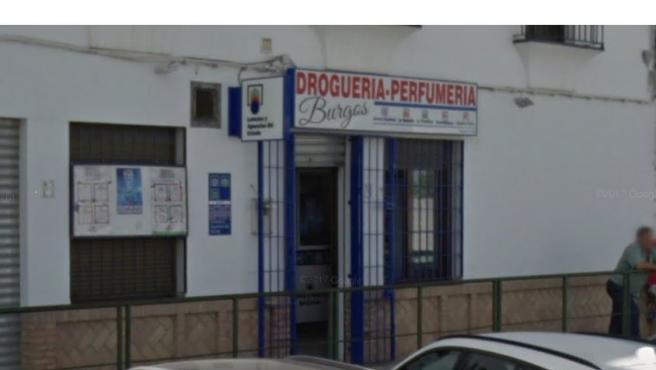 Despacho receptor en Villaverde del Río, Sevilla.