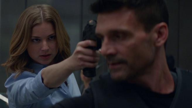 Emily VanCamp en 'Capitán América: El Soldado de Invierno'