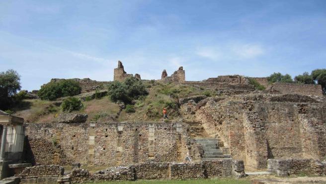 Archivo - Enclave arqueológico de Munigua